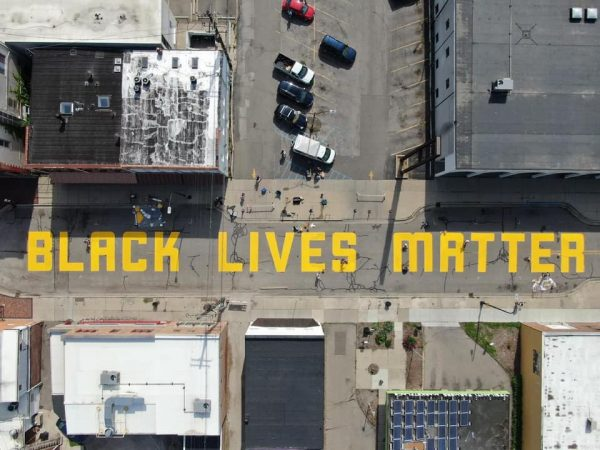 Co-led two Black Lives Matter community murals in Ypsilanti, Michigan with Trisché Duckworth