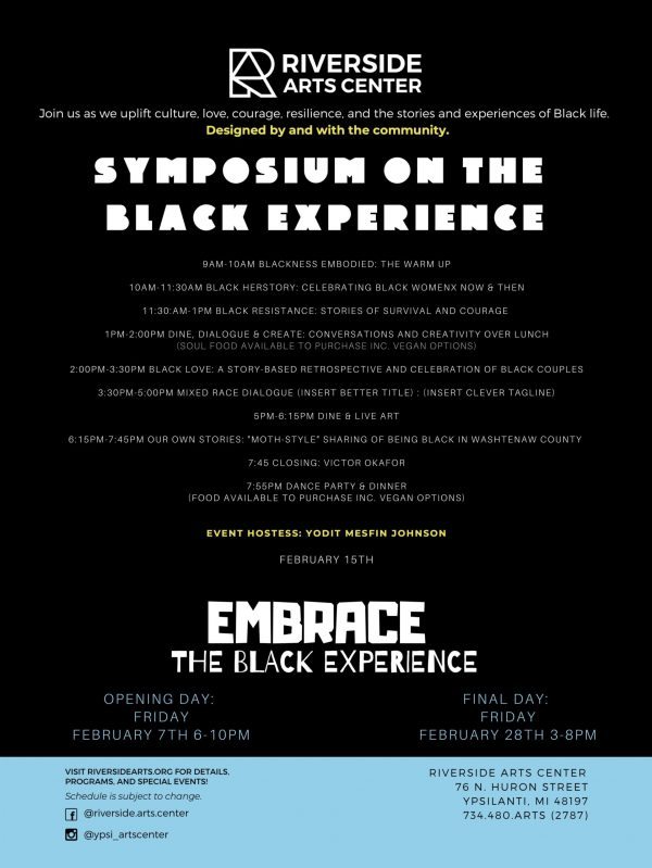 Black History Month Symposium built by the community