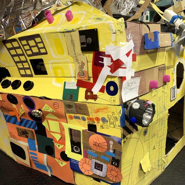 Collaborative Box Fort.